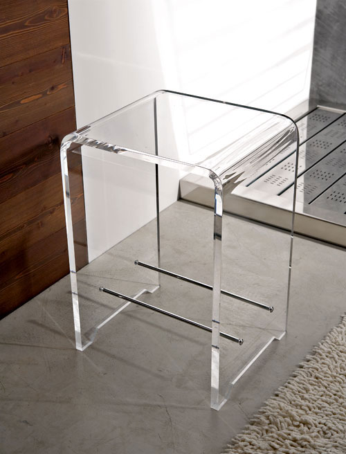 Accessori bagno plexiglass by scrambled design for Design accessori bagno